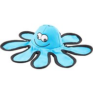Smart Pet Love Tender Tuff Flying Blue Octopus Dog Toy
