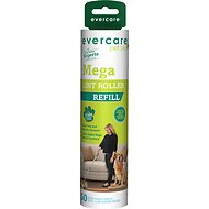 Evercare Pet Plus Mega Extreme Stick Large Surface Pet Lint Roller Refill, 50 sheets