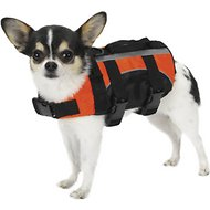 Guardian Gear Aquatic Dog Life Jacket, Orange, XX-Small