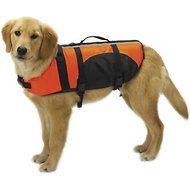 Guardian Gear Aquatic Dog Life Jacket, Orange, Small/Medium