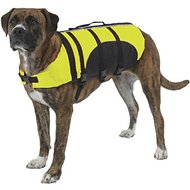 Guardian Gear Aquatic Dog Life Jacket, Yellow, Medium