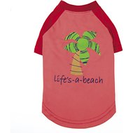 Zack & Zoey Under the Sea SPF 40 Dog Beach T-Shirt, Large