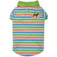 Casual Canine Hawaiian Breeze UPF 40 Dog Polo Shirt, XX-Small