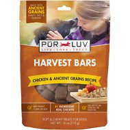 Pur Luv Harvest Bars Chicken & Ancient Grains Recipe Dog Treats, 18-oz bag