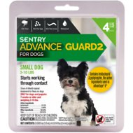 Sentry Advance Guard 2 Flea Treatment for Small Dogs 3-10 lbs, 4-treatments