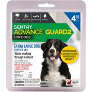 Sentry Advance Guard 2 Flea Treatment for Extra Large Dogs Over 55 lbs, 4 treatments