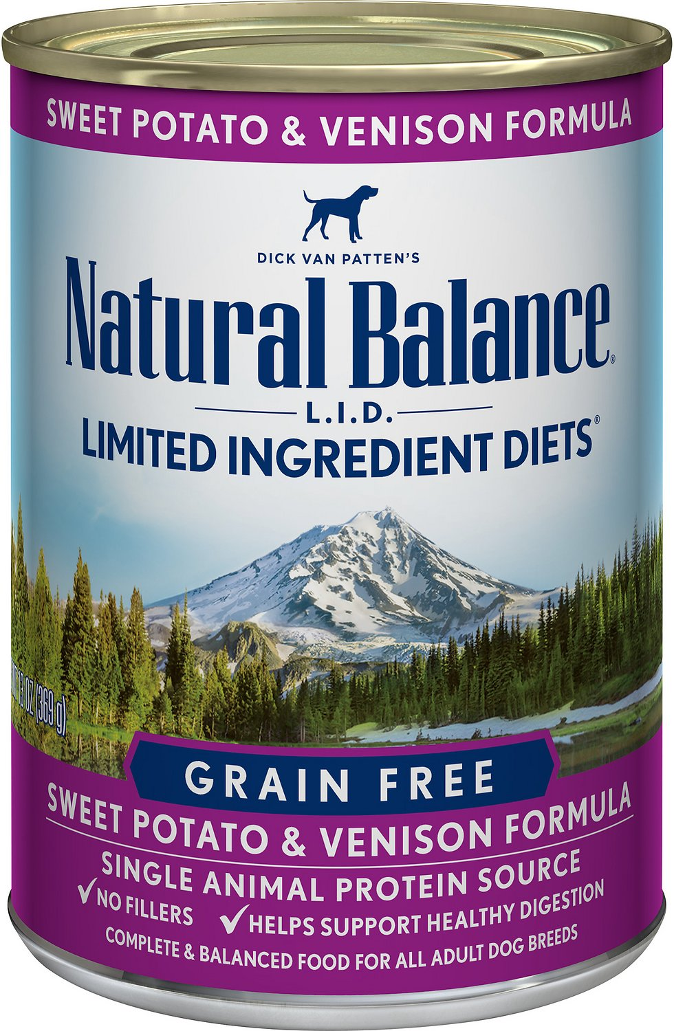 Natural Balance Venison And Sweet Potato Canned Dog Food