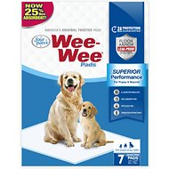 "Wee-Wee Pet Training and Puppy Pads, 22"" x 23"", 7 count"