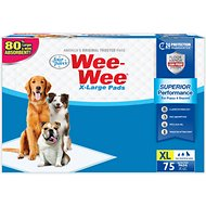 "Wee-Wee Extra Large Puppy Housebreaking Pads, 28"" x 34"", 75 count"