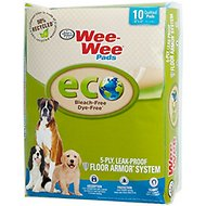 "Wee-Wee Eco Friendly Dog Training Pads, 22"" x 23"", 10 count"