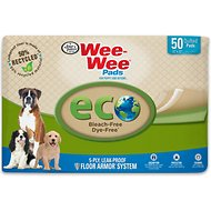 "Wee-Wee Eco Friendly Dog Training Pads, 22"" x 23"", 50 count"