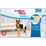 Wee-Wee Disposable Doggie Diapers, Large/X-Large