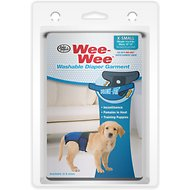 Wee-Wee Washable Dog Diaper Garment, X-Small