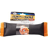 Four Paws Crunch and Crackle Bone Tug Dog Toy, Small