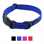 Max and Neo Dog Gear NEO Reflective Dog Collar, X-Small, Blue