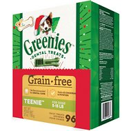 Greenies Season's Greenies Grain-Free Teenie Dental Dog Treats, 96 count