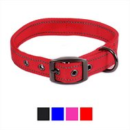 Max and Neo Dog Gear MAX Reflective Dog Collar, Red, Medium