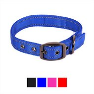 Max and Neo Dog Gear MAX Reflective Dog Collar, Blue, Large