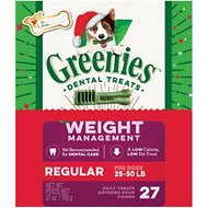 Greenies Season's Greenies Weight Management Regular Dental Dog Treats, 27 count