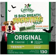 Greenies Halloween Teenie Dental Dog Treats, 130 count