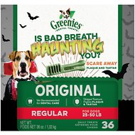 Greenies Halloween Regular Dental Dog Treats, 36 count