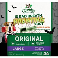 Greenies Halloween Dental Dog Treats, Large, 24 count