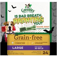 Greenies Halloween Grain-Free Dental Dog Treats, Large, 24 count