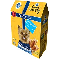 Pedigree Dentastix Holiday Mini Original Dental Dog Treats, 58 count