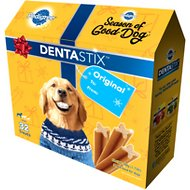 Pedigree Dentastix Holiday Large Original Dental Dog Treats, 32 count