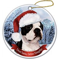 Pet Gifts USA Howliday Dog Breed Ornament, Boston Terrier