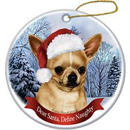 Pet Gifts USA Howliday Dog Breed Ornament, Chihuahua