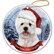 Pet Gifts USA Howliday Dog Breed Ornament, Westie