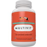 Buddy & Lola Multivit+ Chicken Liver Tablets for Dogs, 180 count