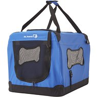 Mr. Peanut's Soft Sided Portable Dog Crate, Blue