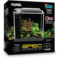 Fluval Spec Aquarium Kit, 2.6-gal