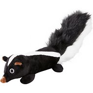 Petlou EZ Skunk Plush Dog Toy, 11-in