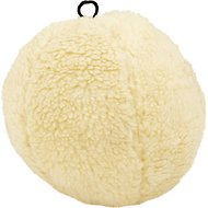 Petlou Fleece Ball Plush Dog Toy, 10-in