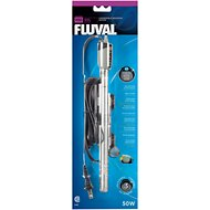 Fluval Submersible Glass Aquarium Heater, 50-watt