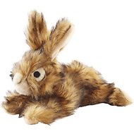 Petlou Rabbit Plush Dog Toy, 8-in