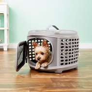 Pet Magasin Collapsible Dog & Cat Travel Kennel, Small