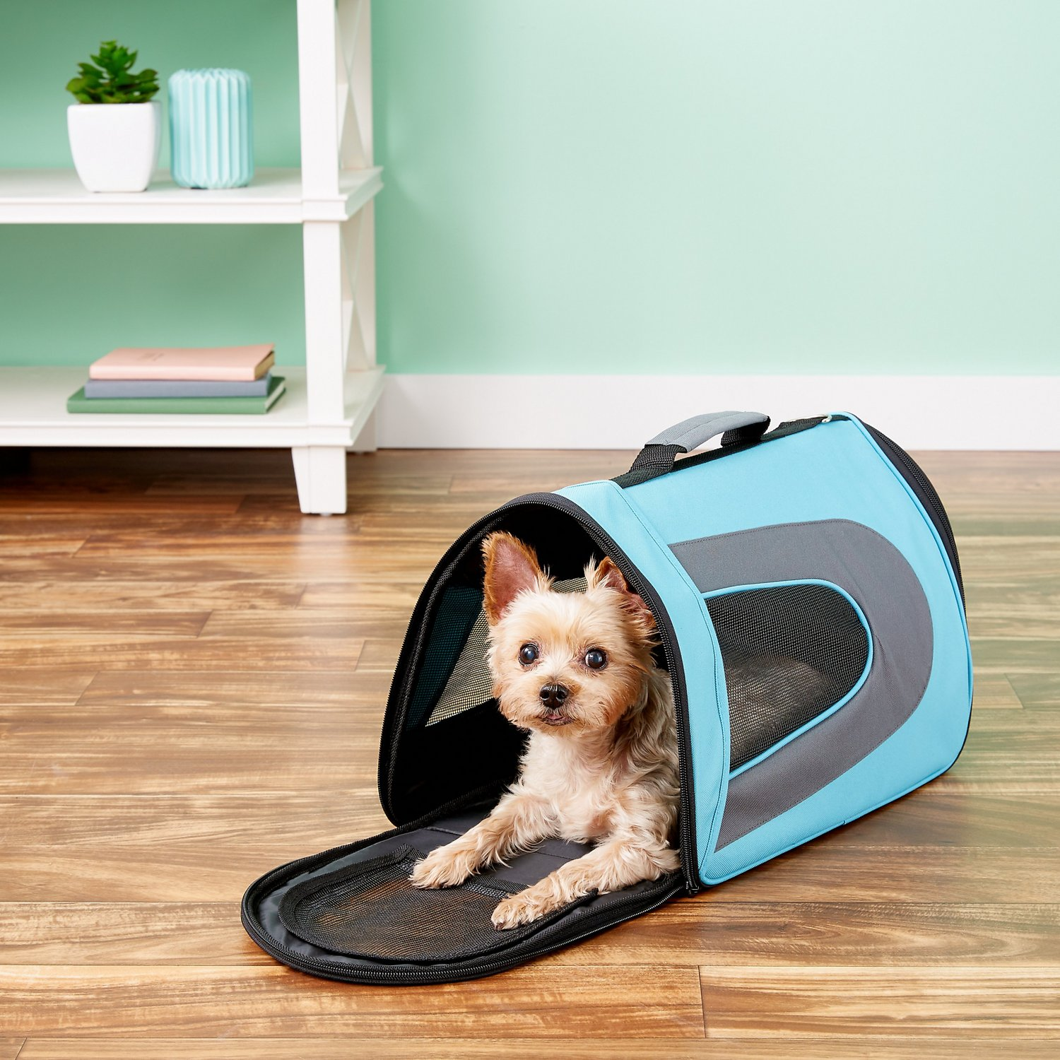 bd6c49f2d8f4 Pet Magasin Soft Sided Airline-Approved Dog & Cat Travel Carrier ...