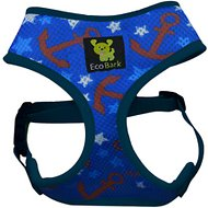 EcoBark Maximum Comfort Nautical Print Dog Harness, X-Large