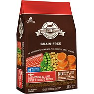 Supreme Source Salmon Meal & Sweet Potato Recipe Grain-Free Dry Dog Food, 24-lb bag