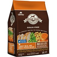 Supreme Source Turkey Meal & Sweet Potato Recipe Grain-Free Dry Dog Food, 6-lb bag