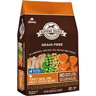 Supreme Source Turkey Meal & Sweet Potato Recipe Grain-Free Dry Dog Food, 24-lb bag