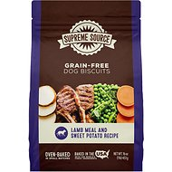 Supreme Source Lamb Meal & Sweet Potato Biscuits Grain-Free Dog Treats, 16-oz bag
