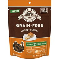 Supreme Source Turkey Grain-Free Soft Dog Treats, 6-oz bag