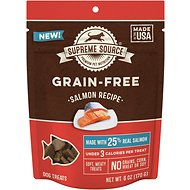 Supreme Source Salmon Grain-Free Soft Dog Treats, 6-oz bag