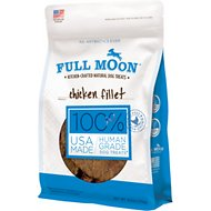 Full Moon Chicken Fillets Dog Treats, 6-oz bag