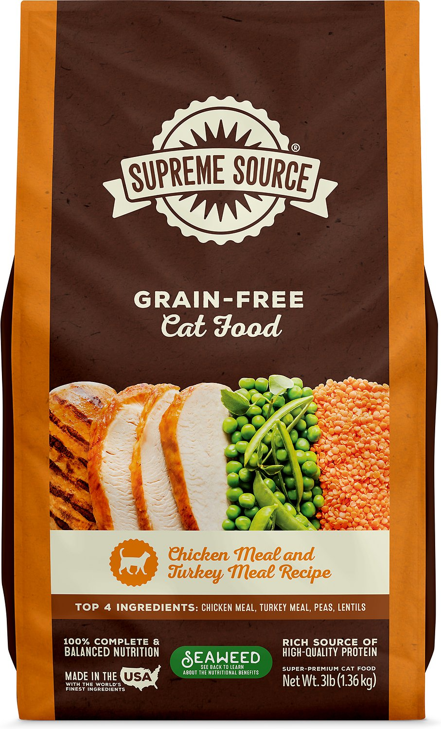Supreme Source Chicken Meal Amp Turkey Meal Grain Free Dry